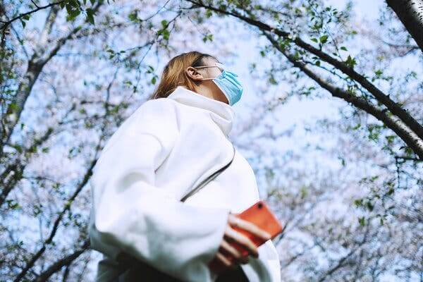 Masque covid contre les pollens, bonne ou mauvaise idée notre avis